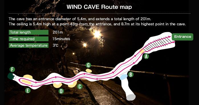 Fugaku Fuketsu Wind Cave Wind Cave and Ice Cave